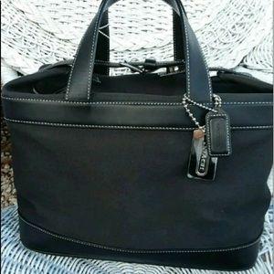 Coach travel cosmetics bag